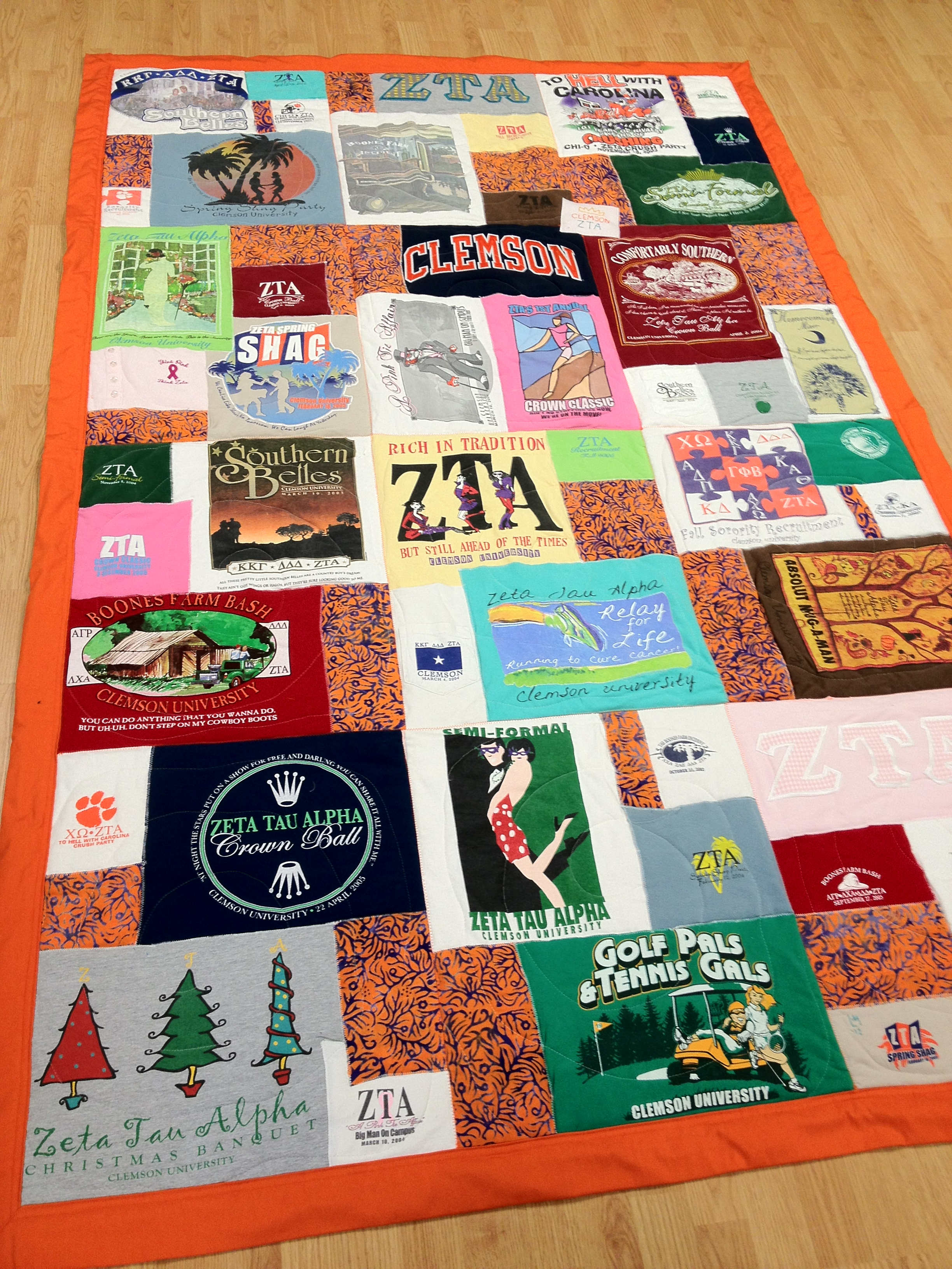 T-shirt Quilts – Memory Quilts by Lauryn Martin : t shirt quilt maker - Adamdwight.com